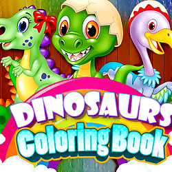 Dinosaurs Coloring Book
