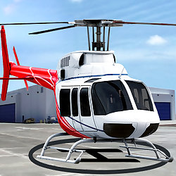 Helicopter Parking and Racing Simulator